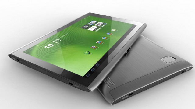 Acer Iconia Sleek Design